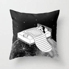 Healing Night Throw Pillow