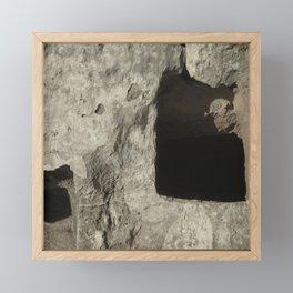 Entrances to Under Earth Travel Photograph Framed Mini Art Print