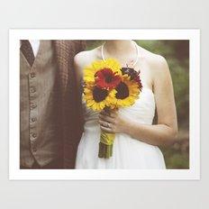 Man & Wife Art Print
