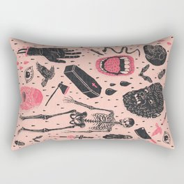 Whole Lotta Horror Rectangular Pillow