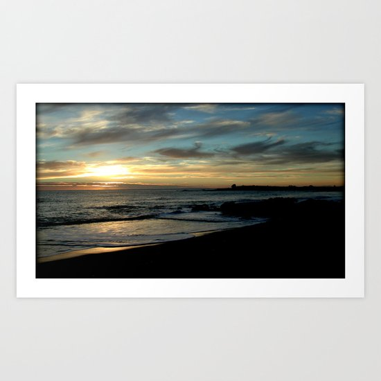 Sunrise over Bass Strait ~ Tasmania Art Print