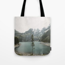 Lone Switzerland Tree - Landscape Photography Tote Bag