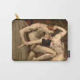 Dante and Virgil in Hell Carry-All Pouch