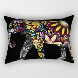 Aztec Elephant Rectangular Pillow