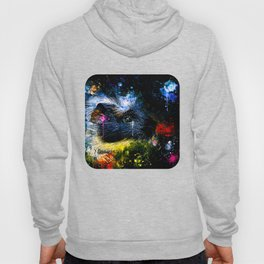 guinea pig colorful side portrait wsstd Hoody