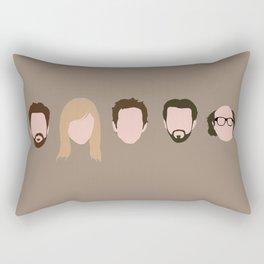 The Gang (It's Always Sunny) Rectangular Pillow