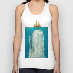 The Whale - colour option Unisex Tank Top