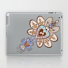 Flowering Heart Laptop & iPad Skin