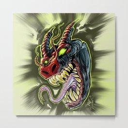 MONSTER demon Metal Print
