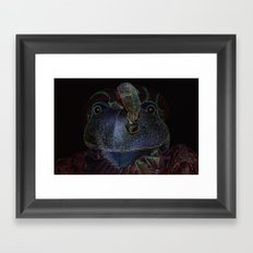 Sir Frog Framed Art Print