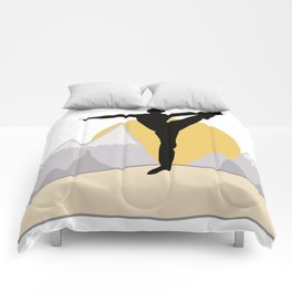 Mountain Top Yoga Comforters