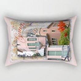 Gaudi Park Guell Rectangular Pillow