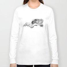 Wolf Skull Long Sleeve T-shirt