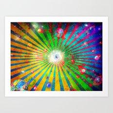 Spatterverse Art Print