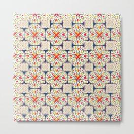 Intricate pattern Metal Print