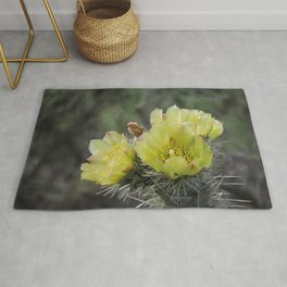 California Cactus Blooms Rug