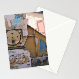 industrial pastels 1 Stationery Cards