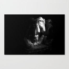 La Captivité Canvas Print
