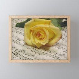 Classical Rose Framed Mini Art Print
