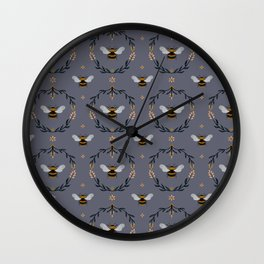 Ode to the Bumblebee Wall Clock