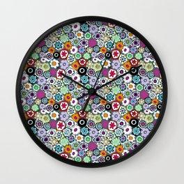 Millefiori (color 2) Wall Clock