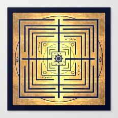 Knowledge Labyrinth Canvas Print