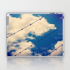 Sky Lights Inspiration Laptop & iPad Skin
