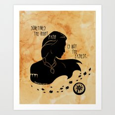 The Right Path Art Print