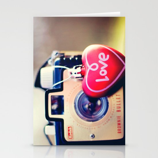 brownie love Stationery Cards