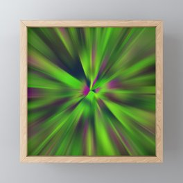 Abstract Fractal Background Framed Mini Art Print