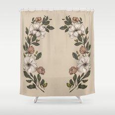 Floral Laurel Shower Curtain