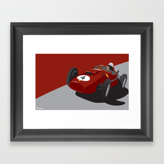 Fearless Count Framed Art Print