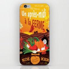 Un après-midi à la ferme : automne iPhone & iPod Skin