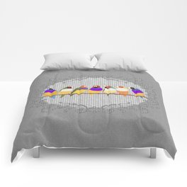 Lady Gouldian Finches Comforters