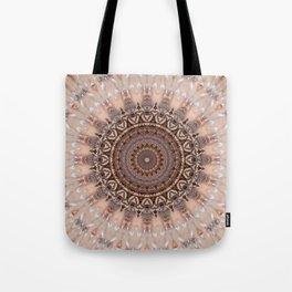 Mandala romantic pink Tote Bag