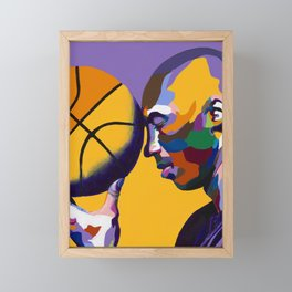 One With The Game Framed Mini Art Print