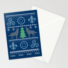Teen Wolf Holiday Sweater Stationery Cards