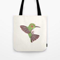 The Green Hummingbird Tote Bag