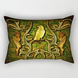The crow Rectangular Pillow