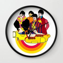 Yellow Submarine - Pop Art Wall Clock