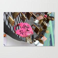 Wynwood Locks Canvas Print