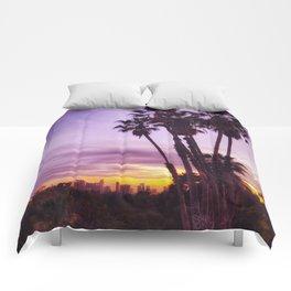 Graffiti Palms Comforters