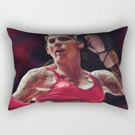 Megan Anderson Rectangular Pillow
