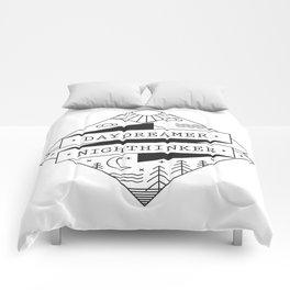 daydreamer nighthinker II Comforters