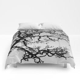Tree Silhouette Comforters