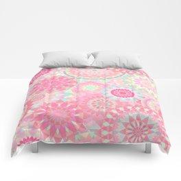 Mandala 206 (Floral) Comforters