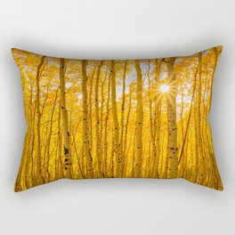 AUTUMN ASPENS OF COLORADO Rectangular Pillow