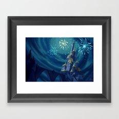 Portrait of a Kingdom: Beast's Castle  Framed Art Print