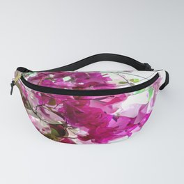 Bougainvillea Blooms Abstract Fanny Pack