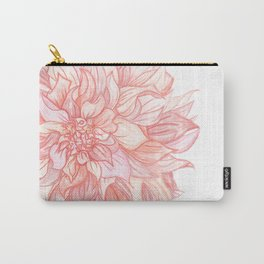 Dreamy Dahlia Carry-All Pouch